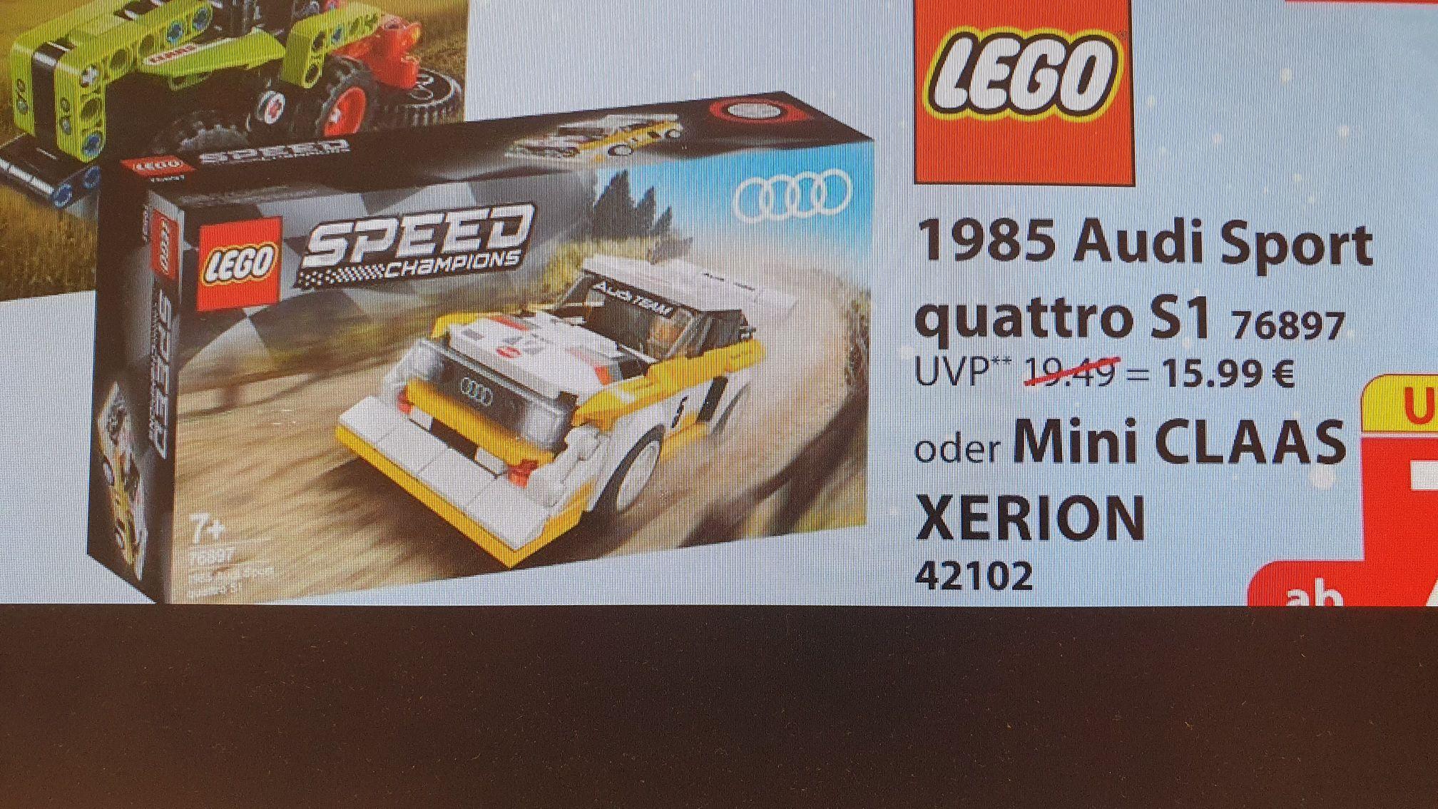 Nur Offline - Lego Speed Champions 1985 Audi Sport quattro S1 (76897)
