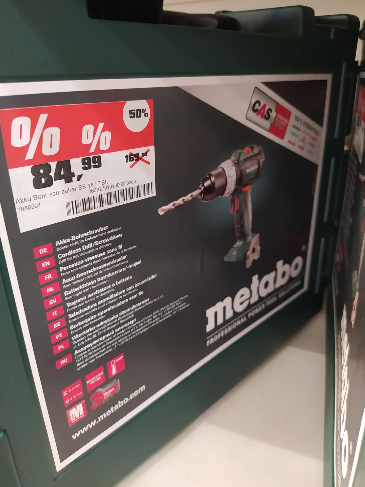 Hannover Laatzen - Metabo BS 18 LT BL - im Koffer ohne Akku - Bohrschrauber