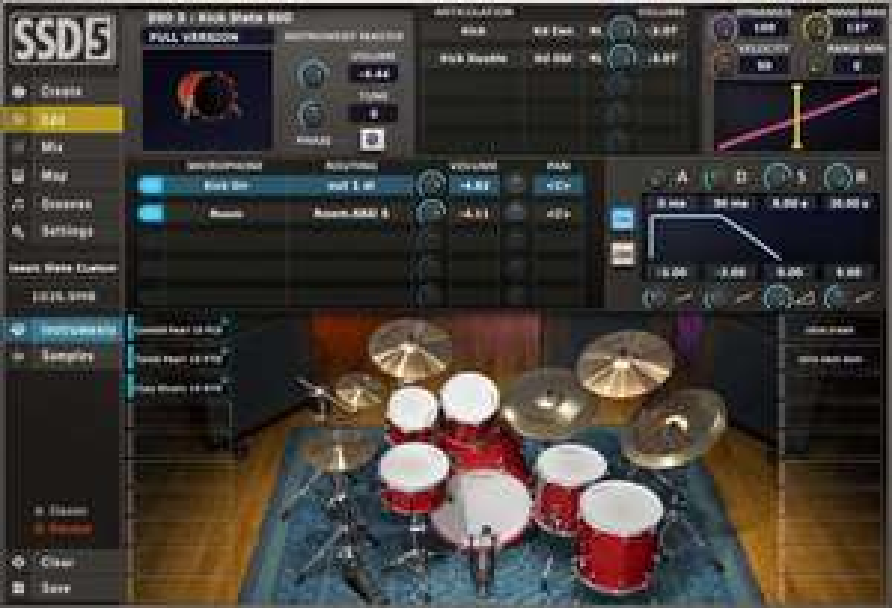 [VST / Musikinstrumente / DAW / Software ] Steven Slate Drums 5.5