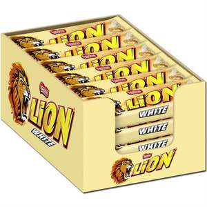Lion White 24 x 42g Schokoriegel