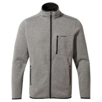 Crag Hoppers 'Etna' Fleecejacke Soft Grey Marl / Dark Grey