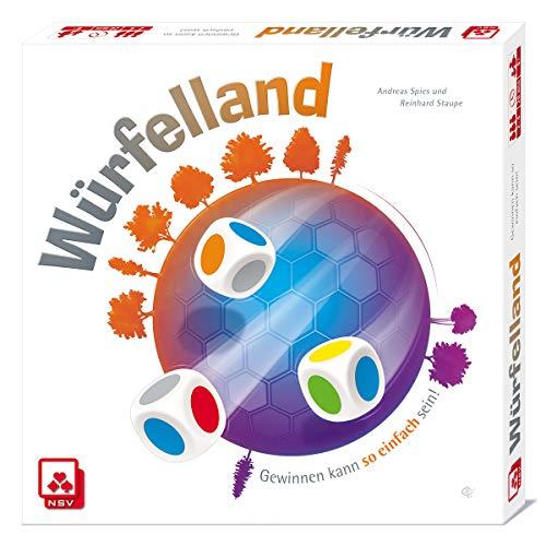 NSV - 4058 - WÜRFELLAND - Würfelspiel ( Amazon Prime )