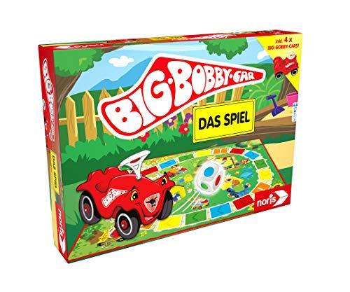 Big-Bobby Car -lDas Spiel - ein lustiges Würfel-Rennspiel für alle Fans - inkl. vier Mini Bobby Cars, ab 3 Jahren (Amazon Prime)