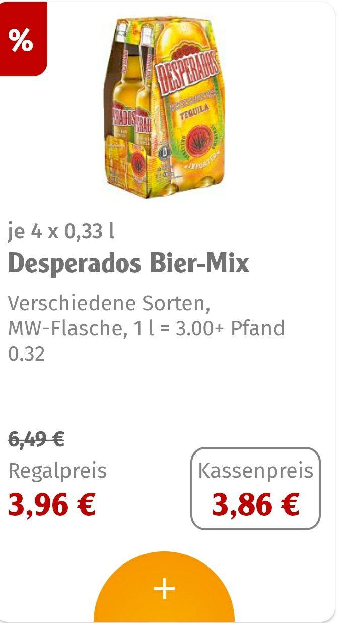 Desperados 4 x 0,33 l Lokal! Globus Ludwigshafen