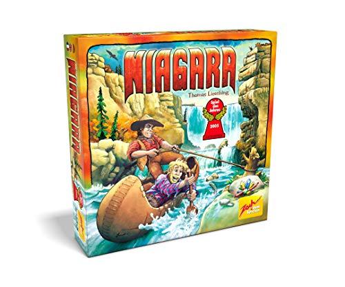 [Amazon Prime] Zoch 601124900 - Niagara - Spiel des Jahres 2005 - Eine atemberaubende Schatzsuche im Wettlauf gegen die Strömung, ab 8