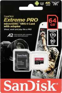 Speicherwoche [KW45] - Tag 3: z.B. SanDisk Extreme PRO microSDXC 64GB - 13,16€ | Intenso Top Performance SSD 256GB - 22,50€
