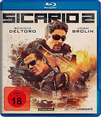 Sicario 2 (Blu-ray) für 5,99€ und Sicario 1 & 2 (Blu-ray) für 9,94€ bei Amazon