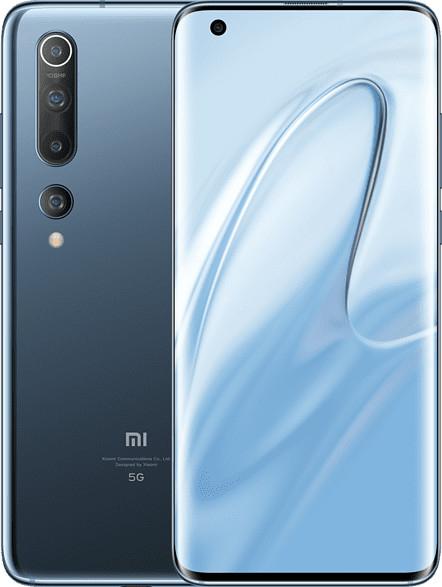 """Xiaomi Mi 10 8GB + 256GB twilight grey 6,67"""" Display, NFC, 5G, 108 Megapixel Kamera, 4.780 mAh, Snapdragon 865, 8K Videoaufnahmen"""