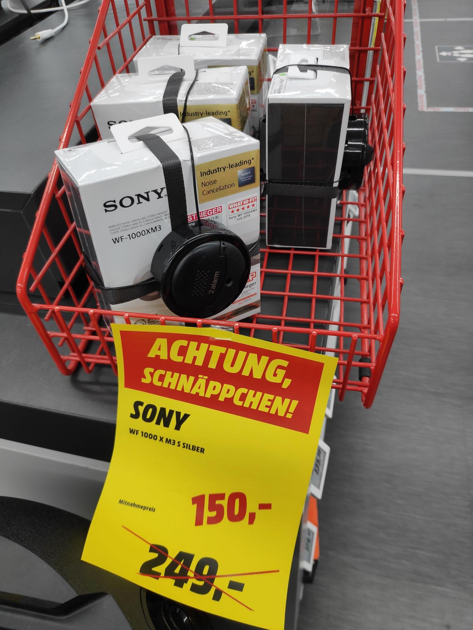 Sony WF-1000XM3 und WH-1000XM3 Mediamarkt Schweinfurt (Lokal)