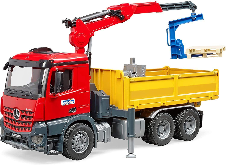Bruder 03651 - MB Arocs Baustellen-LKW [Amazon]
