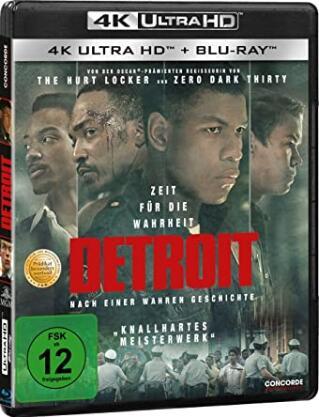 Detroit (4K Blu-ray + Blu-ray) für 7,03€ (Dodax)