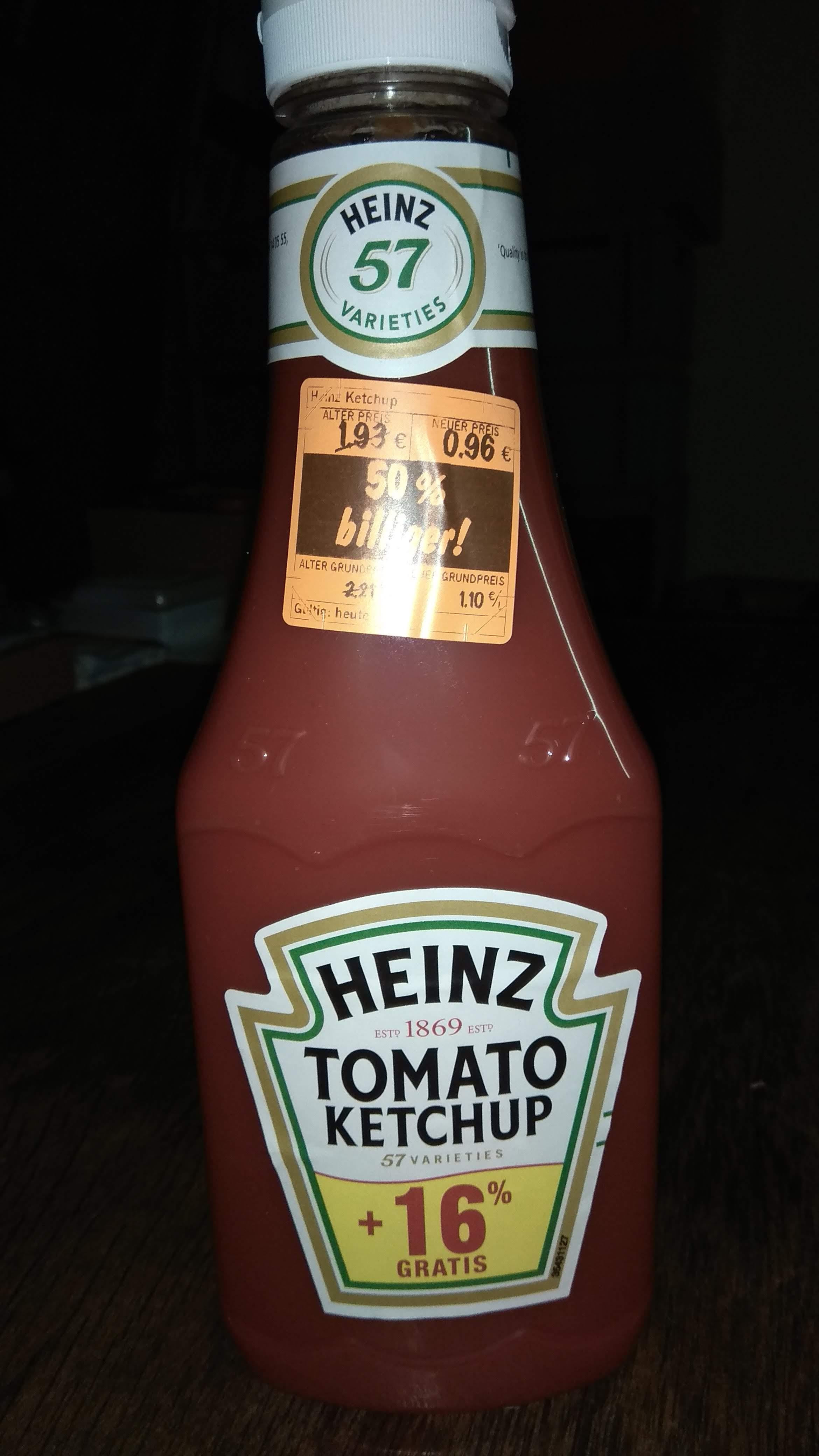 Lokal - [LIDL Mainz] Heinz Ketchup 1kg/875ml