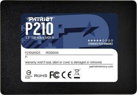 Patriot P210 256GB, SATA SSD für 20€