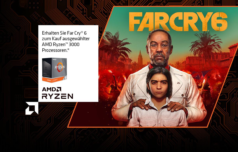 GameBundle zu AMD Ryzen 5800x, 5900X und 5950X FARCRY 6 Kostenlos dazu