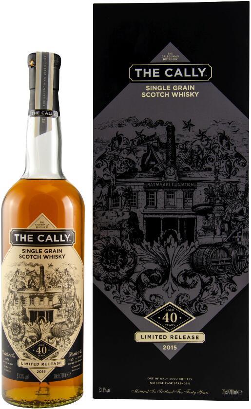 Whisky Deals #55: The Cally 40 Jahre 1974/2015 Single Grain Scotch Whisky 53,3% vol. (0.7 Liter) für 293,51€ inkl. Versand