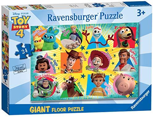 [Amazon Prime] Ravensburger 5562 Disney Toy Story 4, riesiges Bodenpuzzle 50x70cm, 24 Teile, ab 3 Jahre