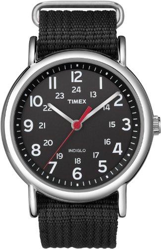 Timex Weekender T2N647 Unisex-Armbanduhr Analog Quarz