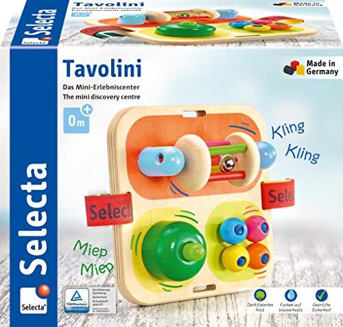 [Amazon Tagesdeal] Selecta 62014 Tavolini, Motorikspielzeug aus Holz, 14 cm