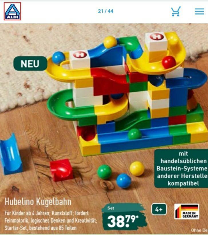 Aldi Nord: Hubelino Kugelbahn Starterset