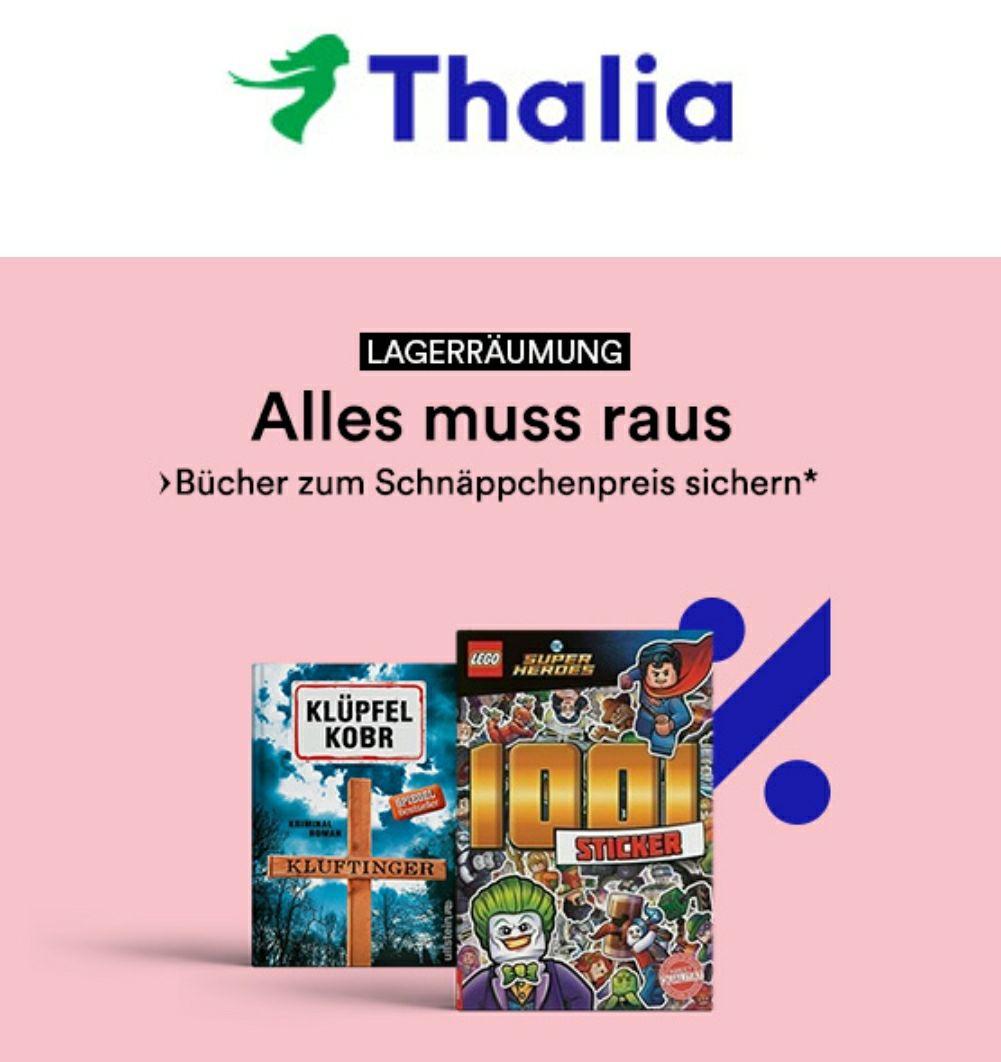 [Online & Lokal] ALLES MUSS RAUS bei Thalia