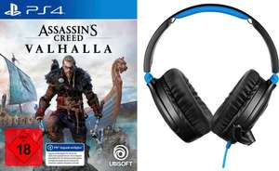 Assassins Creed Valhalla + Turtle Beach Recon 70 (Neukundenrabatt OTTO)