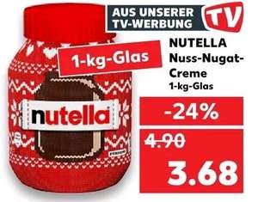 [Kaufland] Nutella 1kg Aktionsglas