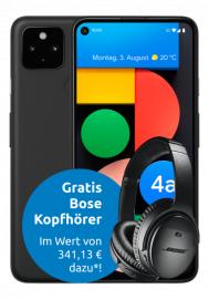 Google Pixel 4a 5G + Bose QC 35 II für 123,99€ ZZ mit Congstar Allnet M (8GB LTE, Telekom-Netz) für mtl. 20€
