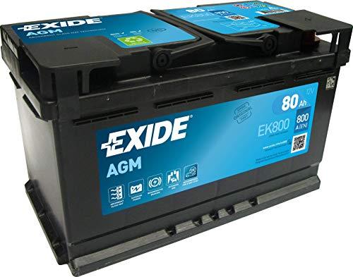 Exide 80Ah EK800