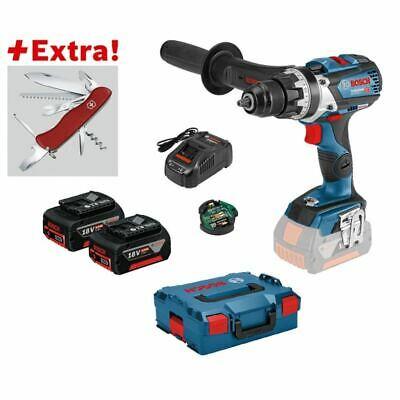 [svh24/ebay] Bosch GSR 18 V-85 C Professional 2 x 5,0 Ah + Klappmesser + L-Boxx (2 für 1 Aktion berechtigt)