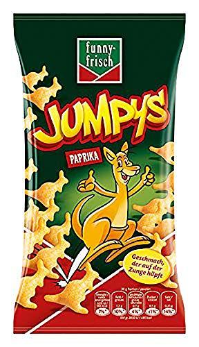 [Prime Vorbestellung] funny-frisch Jumpys Paprika, 20er Pack (20 x 75 g)