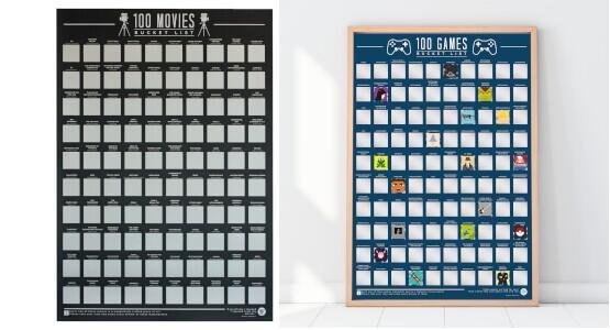 Zwei Bucket Lists (8 verschiedene zur Auswahl) für 23,49€
