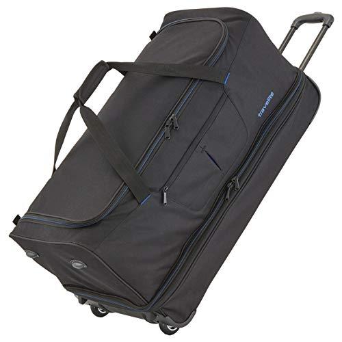 travelite Basics Trolley Reisetasche 70 cm erweiterbar 2 Rollen 98 l - Schwarz