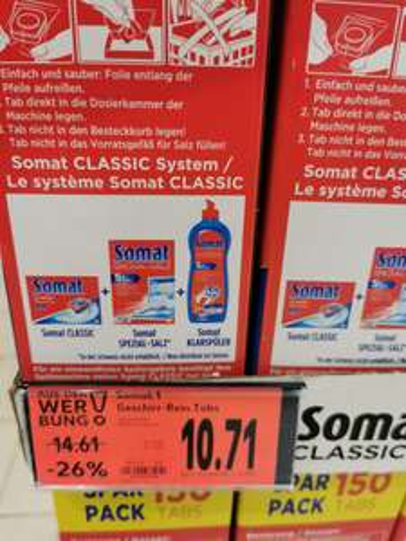 Somat Geschirr-rein 150Tabs (Kaufland)