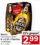 [HIT Bundesweit] Becks Lime Sixpack mit 6€ eventim.de Gutschein für 2,99 € - 12€ eventim GS ohne MBW für 5,98€ + Bier on top möglich
