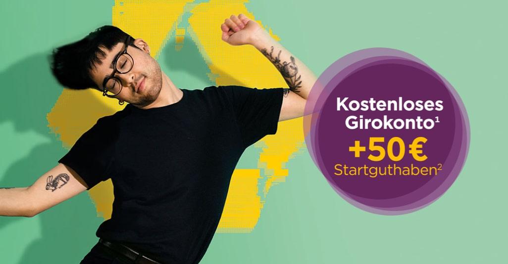 [Commerzbank] Jetzt kostenloses Girokonto mit 50 € Startguthaben online beantragen !