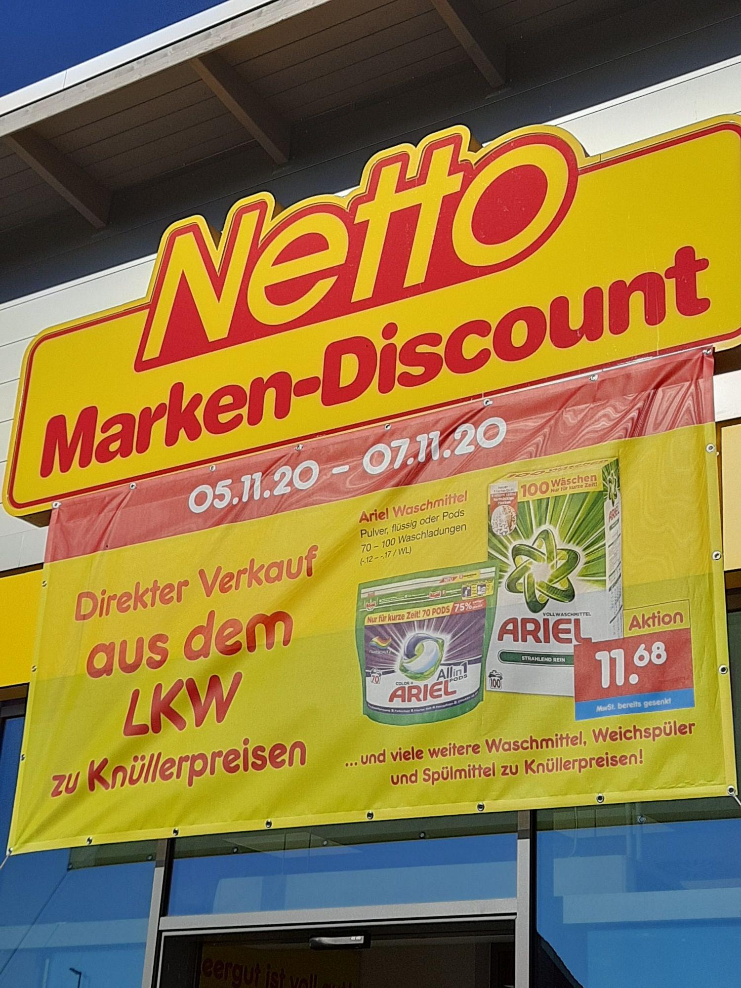 LOKAL Ariel Waschmittel, Weichspüler, Spülmittel und vieles mehr zu billigen Preisen