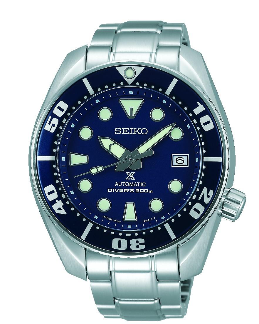 Seiko Prospex SEA Automatik Uhr SBDC033 (Blumo, 6R15, 45mm)