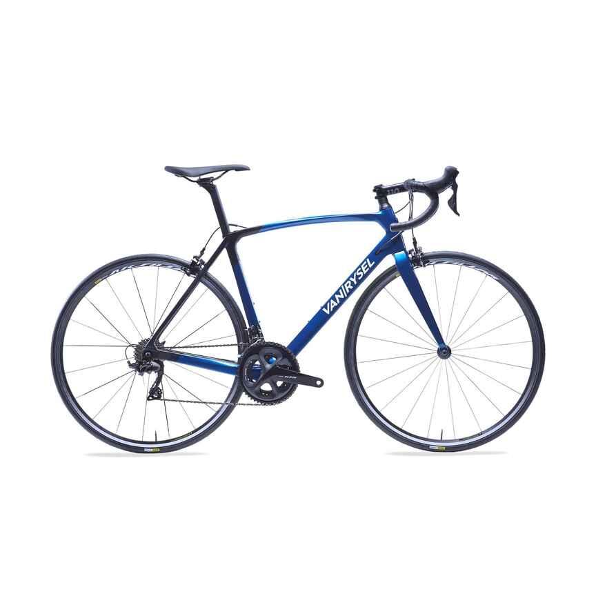 [Decathlon] Rennrad Ultra 900 CF 105 11-fach blau in S und M mit Shimano 105 und Carbonrahmen