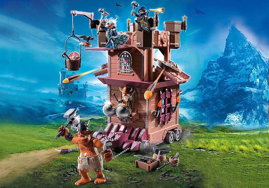 Sammeldeal Playmobil Sets im Angebot bspw. 9340 - Mobile Zwergenfestung