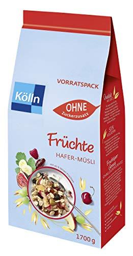 Kölln Müsli Früchte ohne Zuckerzusatz 1.7 kg (Personalisiert)