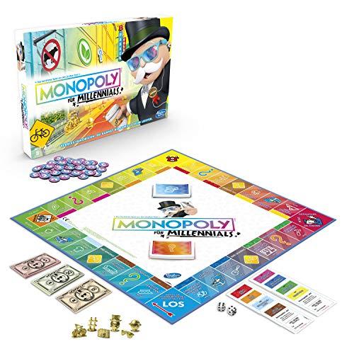 [Amazon Prime] Hasbro Gaming E4989100: Monopoly Millennials für 12,99€