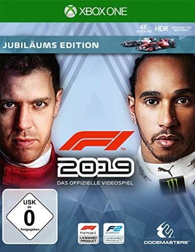 F1 2019 Jubiläums Edition (Xbox One) für 12,75€ inkl. Versand (Amazon Prime)