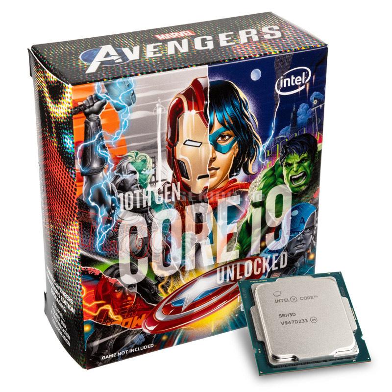 Intel i9 10900K Limited Avengers Edition