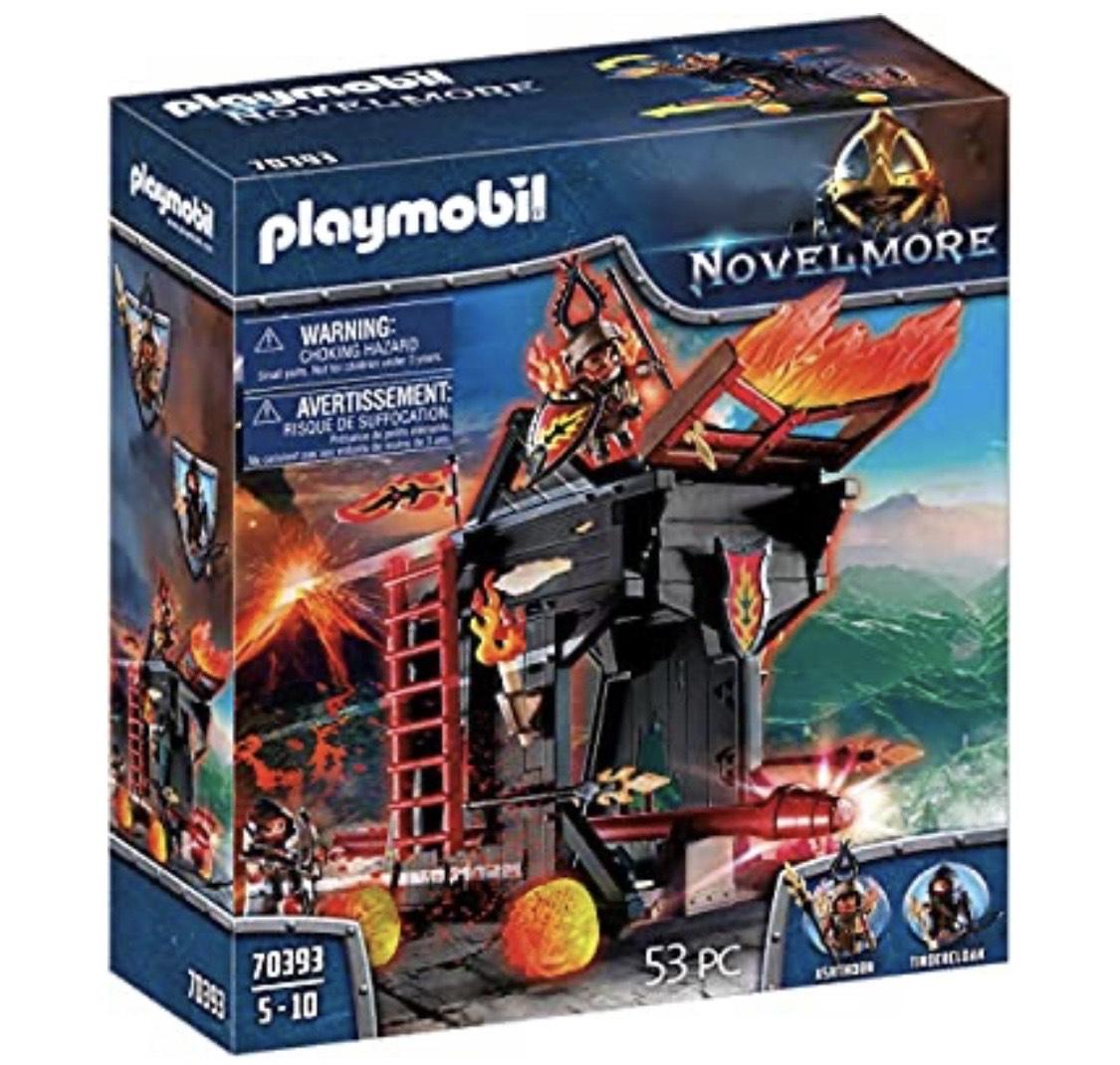 PLAYMOBIL Novelmore 70393 Feuerrammbock