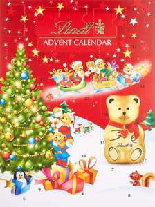 Lindt Teddy Adventskalender, Tannenbaum Design, 1er Pack (1 x 172 g) [Amazon Prime]