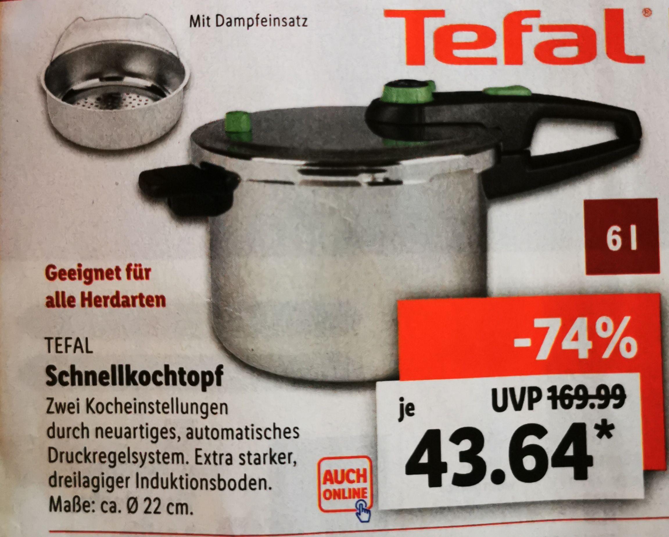 Tefal Schnellkochtopf 6l