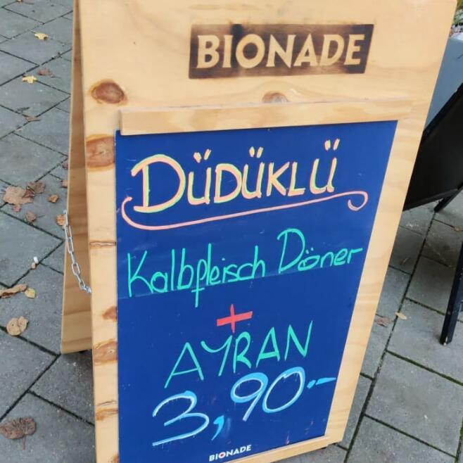 Düdüklü - Kalbsdöner + Ayran - offline [lokal Regensburg]