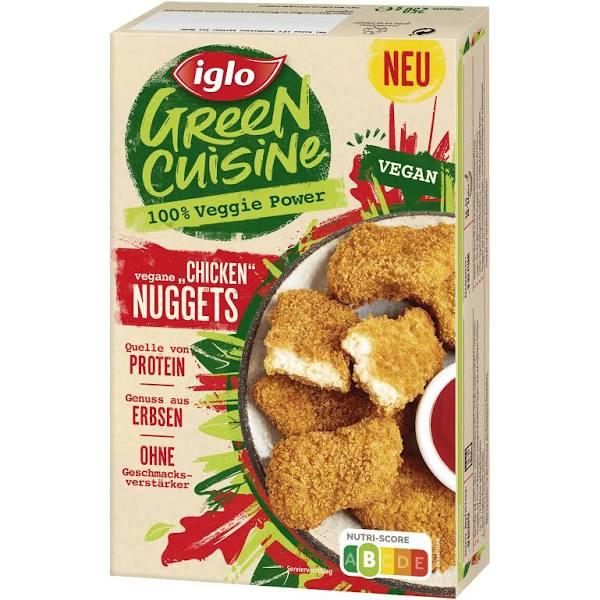 Iglo Green Cuisine 240g Veggie Hackbällchen / 250g Vegane Nuggets mit Coupon 1,74€ [Rewe]