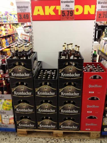 [LOKAL-Göttingen] Krombacher 24x0,33 5,79€
