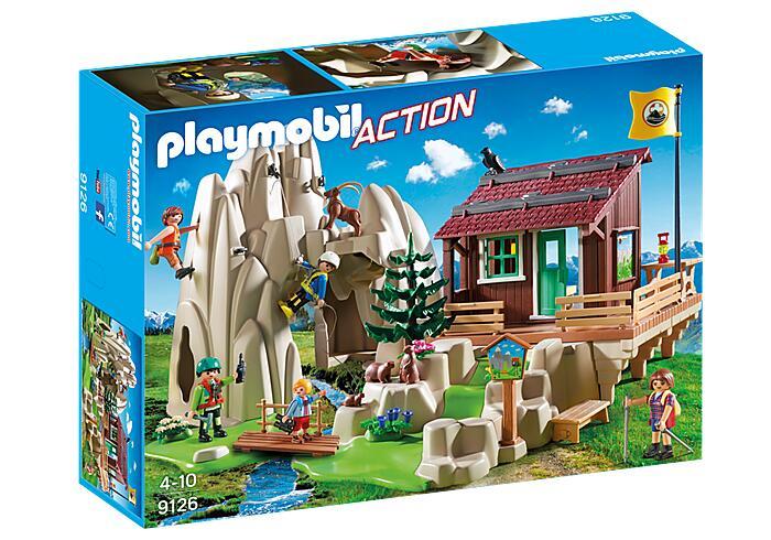 Playmobil 9126 Kletterfels mit Berghütte für 21,02€ @ IWOOT